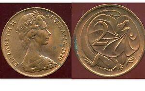 AUSTRALIE 2 cents 1980     ANM  ( bis )