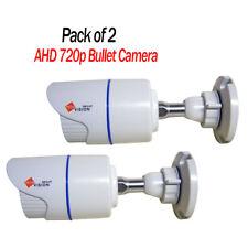 2x e l'720p HD 1.3MP Mini Pallottola Cctv Telecamera fissa 20 METRI VISIONE NOTTURNA IP65