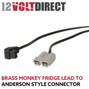 Brass Monkey Fridge Cord to Anderson Plug Adapter Lead TVDA01-BRASSMONKEY