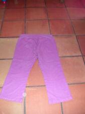jean pantalon   pantacourt t 38/40  de grossesse kiabi maman