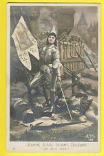 Carte Postale Ancienne HISTORIC FRENCH Jeanne d'ARC devant ORLÉANS 29 Avril 1429