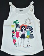 Gymboree Mix N Match Friends GREAT DAY For The BEACH Tank Top 10 12 Kid Girl NWT