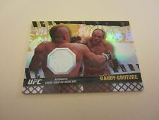 Randy Couture 2010 Topps UFC Fight Mat Relics Gold #FMRC #'d 001/188 UFC MMA