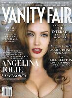 Vanity Fair Magazine Angelina Jolie Inventing the Internet Cuban Baseball 2008 .