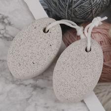 2x New Pumice Stone Foot Care Scrub Dead Hard Skin Callus Remover Pedicure To CZ