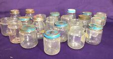 Vintage Baby Food Jars 4 oz Empty Gerber Heinz Formula Jars Glass Vintage