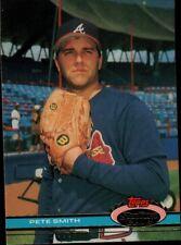 Topps Stadium 1991 #519 - Atlanta Braves - Pete Smith