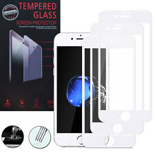 3 Films Verre Trempe Protecteur Protection BLANC pour Apple iPhone 7 Plus 5.5""