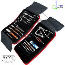 Dental Lab Technician Tools Kit Wax Modeling Carvers Mixing Spatula 16 Pcs Set