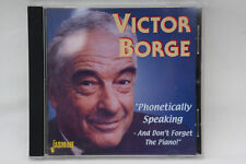 Victor Borg Phonetically Speaking – and Don't Forget the Piano CD