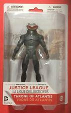 "DC UNIVERSE Throne of Atlantis BLACK MANTA 6"" action figure AQUAMAN VILLAIN New"