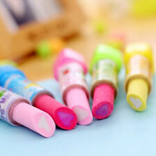 Kids Fruit Scent Multicolor Erasers Rubber School Office Stationery Accessories