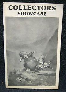 COLLECTORS SHOWCASE #3 (1976) - Original Comic Artwork Fanzine / Catalog