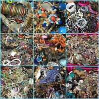 Jewelry Lot: Necklaces, Earrings, Bracelets, 8 Or More Pounds of Wearable Gems!