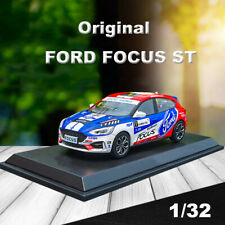 Original 1:32 FORD ALL NEW FOCUS ST WRC Rally Racing Car Model Collection No.1