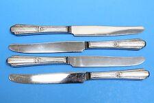 4 Wm Rogers Memory - Hiawatha Silverplate Flatware Dinner Knives
