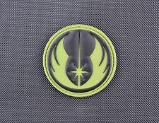 3D PVC Jedi Morale Patch Star Wars Rogue One Galactic Republic VELCRO® Olive