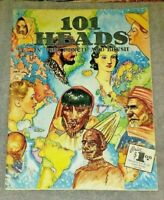 How to Draw 101 HEADS in Pen, Pencil & Brush by Walter Foster  #16 - 42 pages -