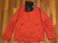 VINTAGE 1990's NAUTICA COMPETITION SAILING CLASS WINDBREAKER & RAIN JACKET XL