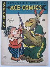 Ace Comics #101 (David McKay 1945) Golden Age Adventures of Jungle Jim 5.5 FN-