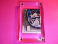 2005 SP Authentic Ryne Sandberg Game Used JERSEY Cubs #d 87/130 HOF Honors