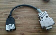 OMRON CS1W CN118 CABLE comunicación CJ1, CQM1H