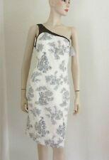 New ARMANI COLLEZIONI Toile Print Bare Shoulder Beautiful Dress Sz.8 With Tags