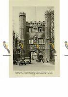 Kings Gate, Trinity College, Cambridge, England, Book Illustration, c1920