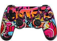 Graffiti hip hop PlayStation 4 (PS4) CONTROLLER Adesivo / pelle / Wrap / ps18