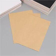 35 X A4 180GSM Blank Brown Kraft Paper DIY Wedding Invitation Card Menu