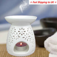 Ceramic Fragrance Oil Burner Essential Aromatherapy Scent Candle Tea Light