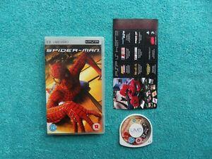 SPIDER-MAN - sony playstation portable - PSP UMD video