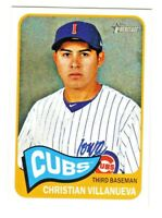 2014 Topps Heritage Minors #152 CHRISTIAN VILLANUEVA RC Rookie QTY AVAILABLE