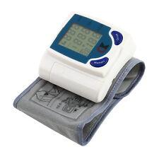 Digital LCD Poignet Tensiomètre avec rythme cardiaque taux pouls mesure 7 @