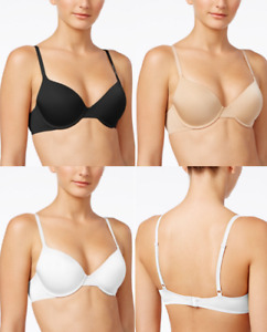 SIZES/COLORS Calvin Klein Essence Demi T-Shirt Bra QP1037O