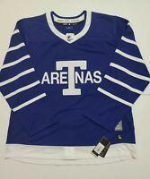 "Adidas Authentic Toronto ""Arenas"" Maple Leafs NHL Pro Stock Hockey Men's Size 56"
