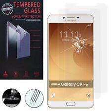 "2x BulletProof Glass for Samsung Galaxy C9 Pro 6.0 "" Genuine Screen Protector"