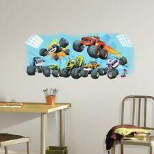 Monster Machine Trucks Mural Wall Decals Gabby Crusher AJ Room Decor Stickers TB