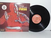 MONGO SANTAMARIA Fuego LP Plays Well VG+ Vaya VS18 Latin Jazz