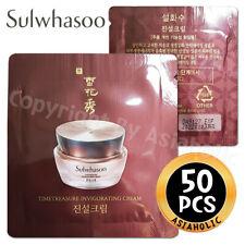 Sulwhasoo Timetreasure Invigorating Cream 1ml x 50pcs (50ml) Sample Newist Ver