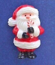 BUY1&GET1@50%~Hallmark PIN Christmas 🎅 SANTA Claus w CANDY CANE Vtg SIGNED HMC