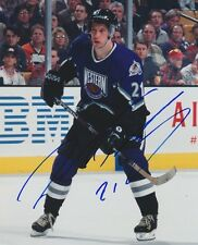 PETER FORSBERG Signed NHL ALL STAR 8X10 Photo w/COA