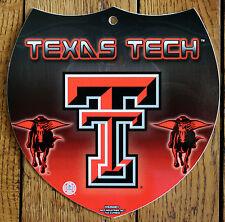 Licensed NCAA Plastic Texas Tech University Red Raiders Interstate Sign