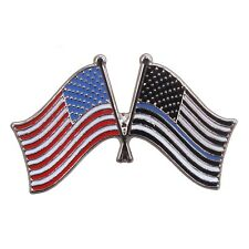 Thin Blue Line Us Flag Pin Support Law Enforcement Rothco 1966