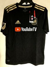Adidas MLS Jersey Los Angeles Football Club Team Black Youth sz XL