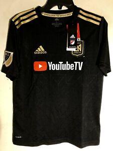 Adidas MLS Jersey Los Angeles Football Club LAFC Black Youth sz M