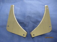 MG    MGB 1962-1974 PAIR STAINLESS STEEL REAR BUMPER INFILLS            v2d