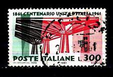 ITALIA REP. - 1961 - Centenario dell'Unità d'Italia - 300 lire Unificato 931