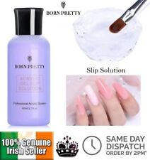 BORN PRETTY Large 60ml  Acrylic UV PolyGel Slip Solution  Sticky Layer Cleanser