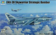 Trumpeter 1:48 EKA-3B Skywarrior Strategic Bomber Plastic Model Kit #02872